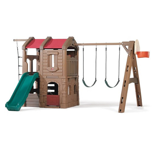 Kids Swing Set Installation