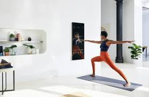 Interactive Home Fitness System Installation 01