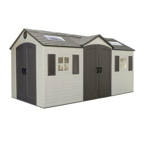 8' x 15' Shed Installation