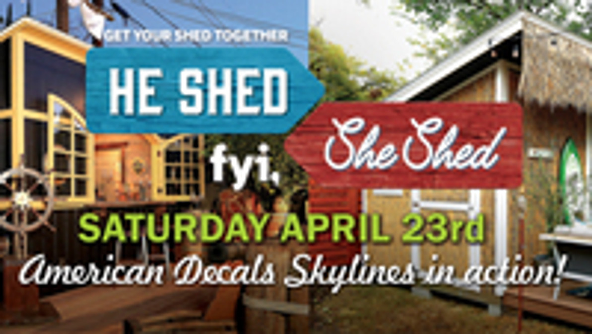 We will be on @FYI's new show #HeShedSheShed this Saturday!