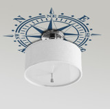 How To Select The RIGHT SIZE Compass Rose Ceiling Medallion?