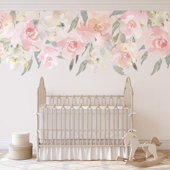 Delaney's Blush Pink Wall Decal