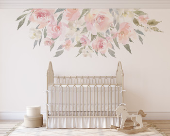 Delaney ROSE Blush Pink Wall Decal