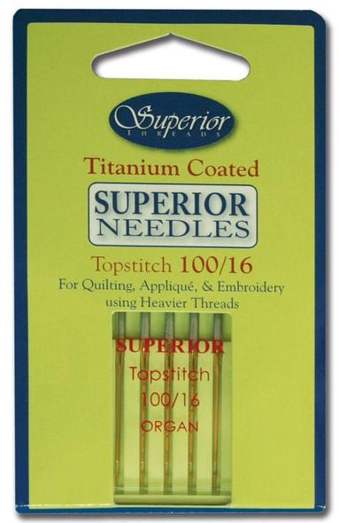 Superior Topstitch 100/16 Needles