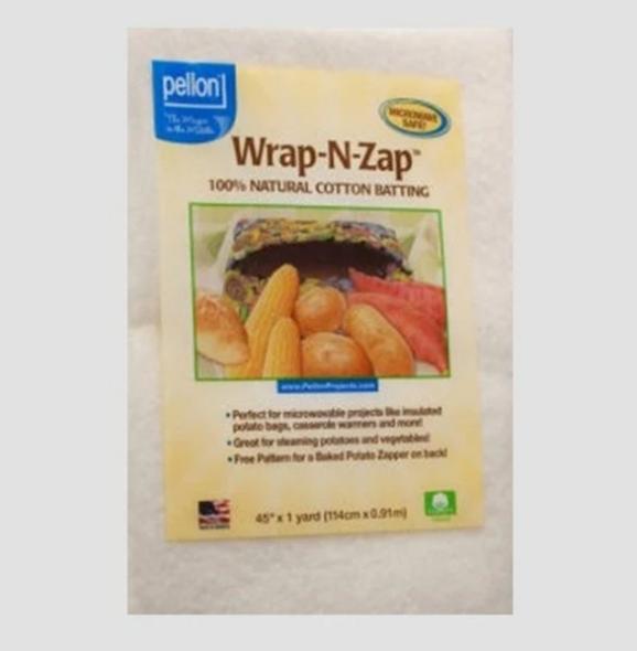 Warm-N-Zap Microwave Cotton Batting by Pellon