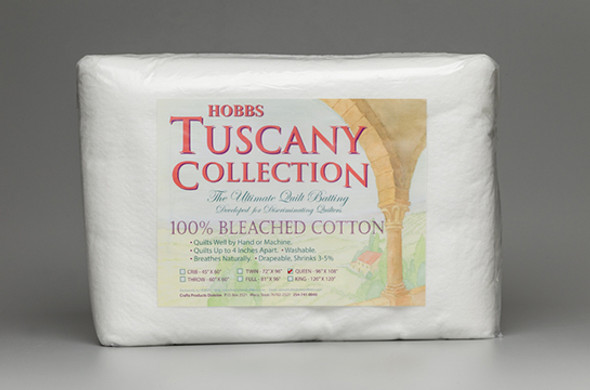Tuscany Bleached Cotton Quilt Batting
