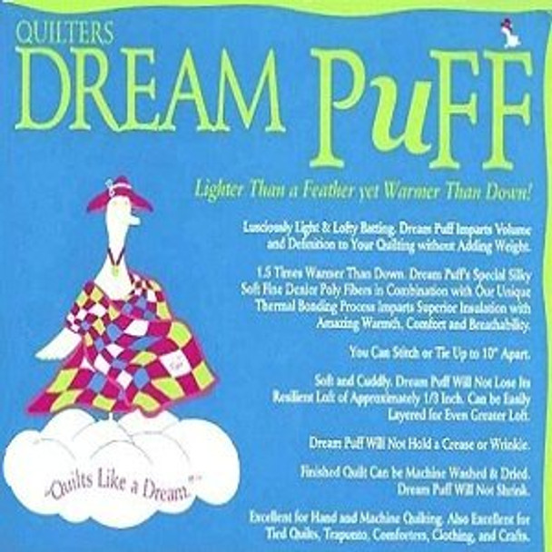 Quilters Dream Puff Polyester Quilt Batting