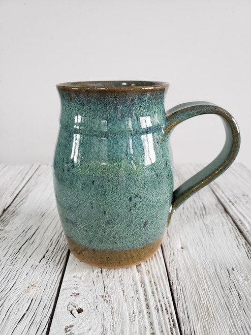 Speckled Green Mug