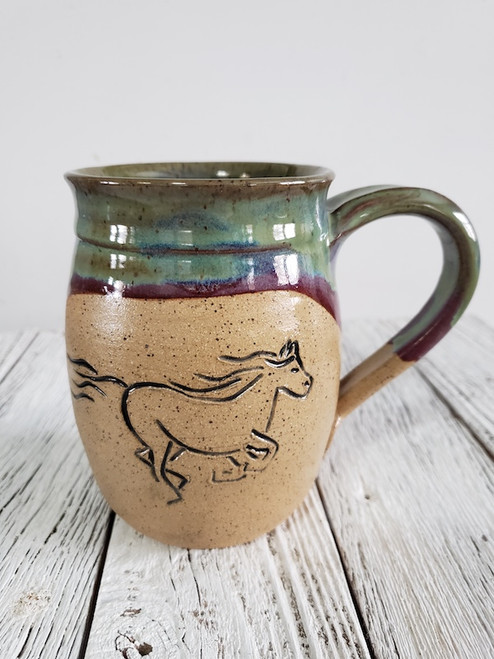 Running Horse Mug