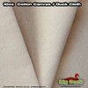 "10oz/36"" Cotton Canvas Fabric/ Duck Cloth - NATURAL"