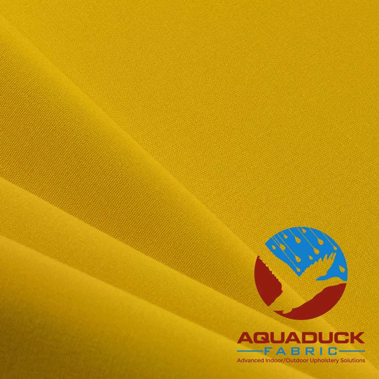 Wholesale Outdoor Furniture Fabric: AquaDuck® Solution Dyed Acrylic    Sunshine (Yellow/Gold) Color