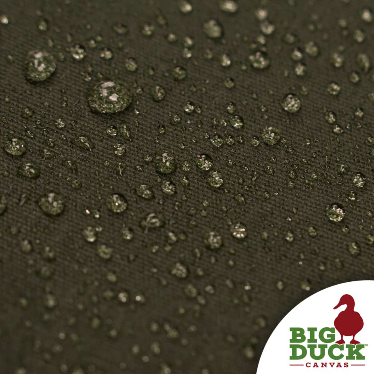 Waxed Canvas Cotton Duck 10oz - Forest Green