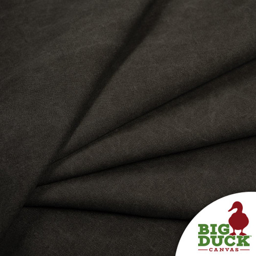 Stone Washed Canvas Black Cotton Discount Fabric Rolls