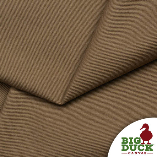 Preshrunk Cotton Bull Denim Taupe Light Brown Preshrunk USA Made
