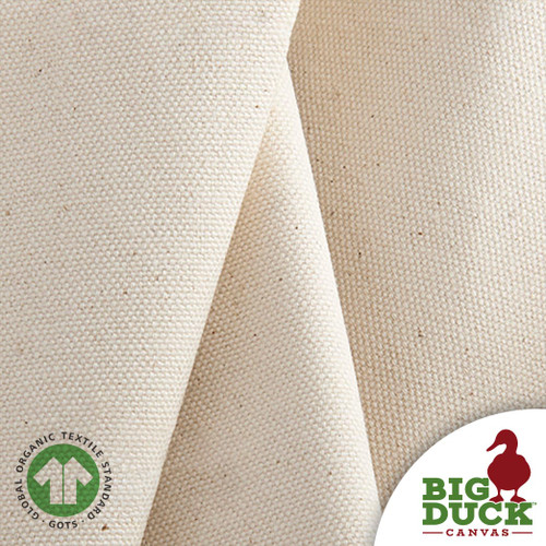 Organic Cotton Canvas/Duck Cloth, Wholesale Certified Natural Goods, Roll
