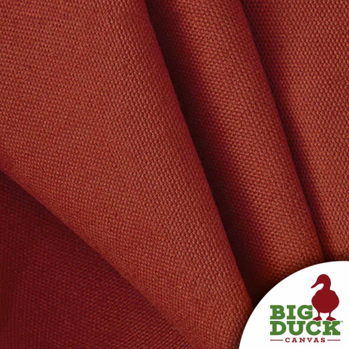 "Duck Cloth Duck Canvas 50 Yard Roll ""Burnt Scarlet"" 10oz per Yard"