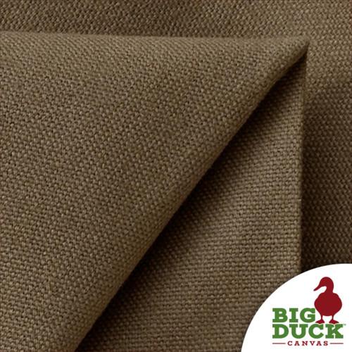 US Fabric STONE Cotton Canvas 10oz Rolls Folded Light Brown