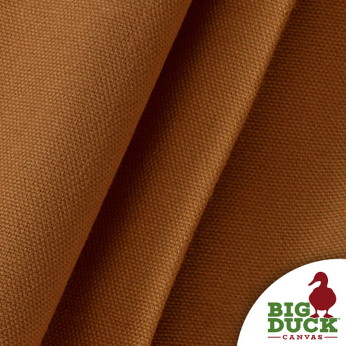 Cotton Canvas Duck Cloth 10oz Preshrunk Wholesale Fabric USA Made Nutmeg