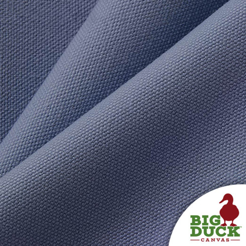 "#8/60"" cotton canvas fabric / 18oz Heavyweight cotton duck - Light Blue"