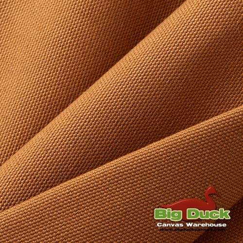 Cotton Duck Heavyweight 100% Ring-Spun Roll/Yards-Brown (Wholesale Factory Seconds, Popular Brand)