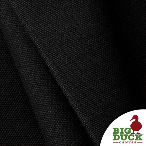 100% Cotton Canvas Duck Black Wholesale Preshrunk USA Made