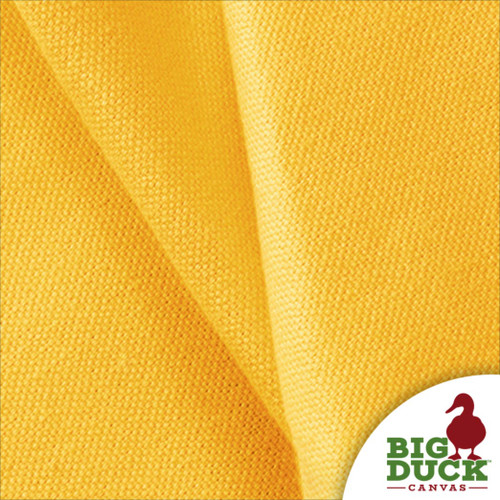 Yellow Canvas 10oz Cotton Preshrunk Discount Canvas