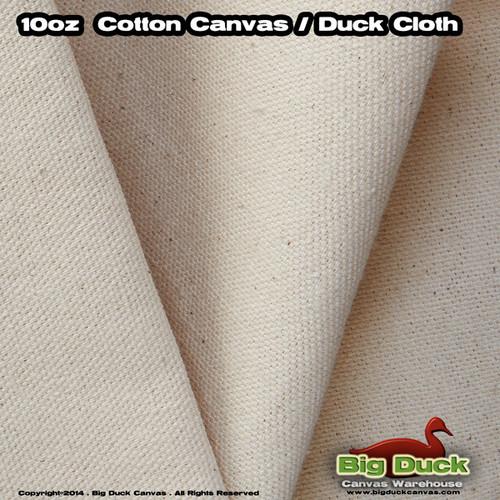 """Natural 10oz/48"""" Cotton Duck Unprimed Artist Canvas Rolls Wholesale"""