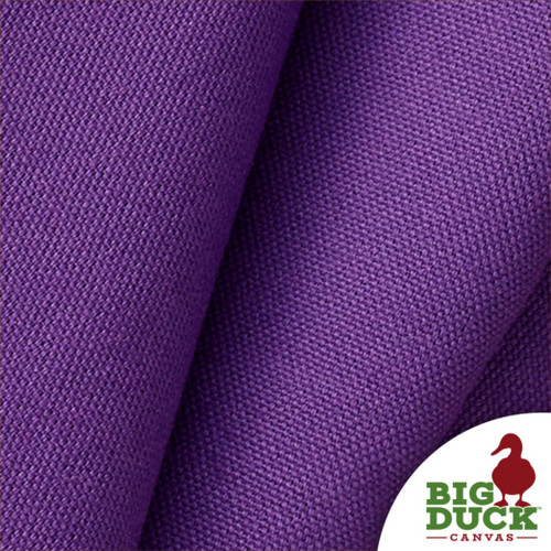 Purple Wholesale Canvas Sample of 10oz Cotton Preshrunk Canvas