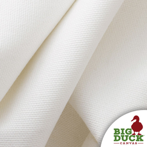 White Canvas 100% Cotton 10oz USA Made Wholesale Preshrunk Fabric