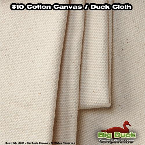 "#10/84"" Cotton Canvas Fabric / Duck Cloth (15oz) - NATURAL"