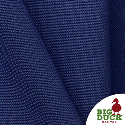 Wholesale Canvas Sample of 10oz Cotton Preshrunk Canvas in Royal Blue