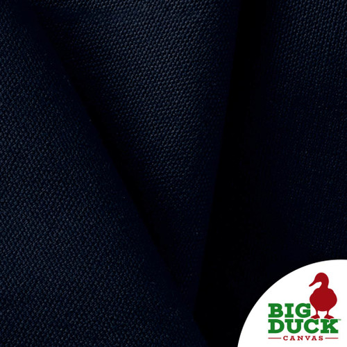 100% Cotton Canvas Duck 10oz Navy Blue Discounted by the Yard