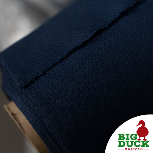 100% Cotton Canvas Duck 10oz Navy Blue Wholesale Rolls
