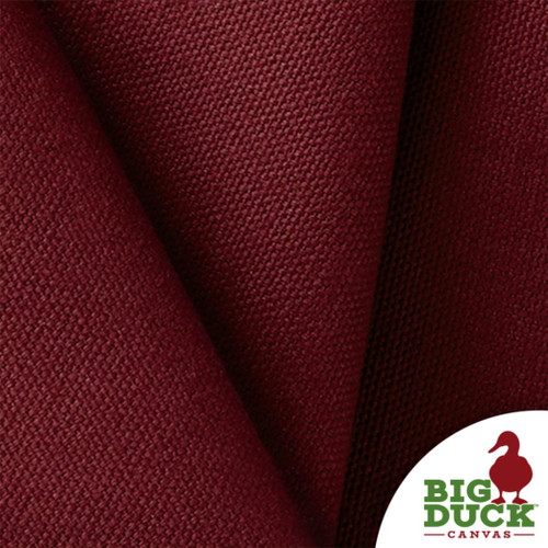 100% Cotton Canvas 10oz per Yard Burgundy Wholesale USA Fabric Sample