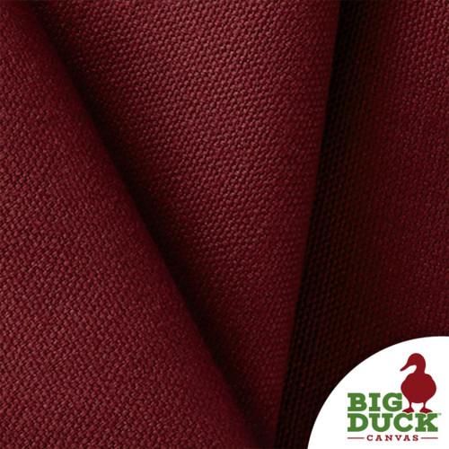 100% Cotton Canvas 10oz per Yard Burgundy Wholesale USA Fabric Sample