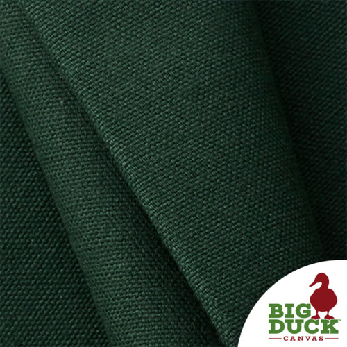 USA Fabric All Cotton Wholesale 10ounce Green Preshrunk Sample Yard Photo