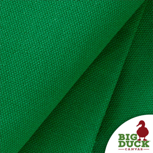 "Green 100% Cotton Canvas Duck Cloth ""Delaware Grass"" Wholesale Preshrunk USA Fabric"