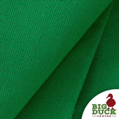 """Green 100% Cotton Canvas Duck Cloth """"Delaware Grass"""" Wholesale Preshrunk USA Fabric"""