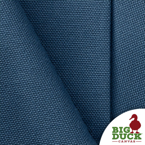 Denim Blue USA Fabric Preshrunk Cotton Canvas 10oz per Yard Weight