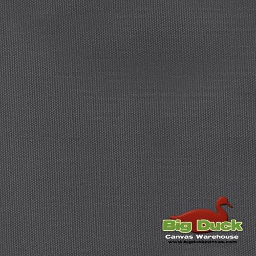 12oz Heavyweight Cotton Duck DARK GREY (Popular Brand FACTORY SECONDS) Wholesale Big Duck Canvas
