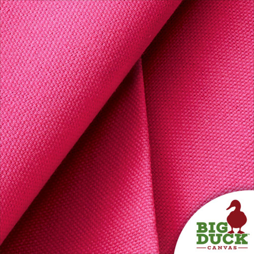 Pink Cotton Canvas 10oz Wholesale US Fabric Preshrunk Color
