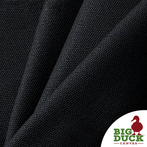 Black Waxed Canvas Fabric Number 10 15oz Heavyweight Wholesale Cotton Duck Cloth