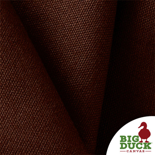 "US Fabric Cotton Canvas 10oz Wholesale ""Potting Soil Brown"" Dyed Color"