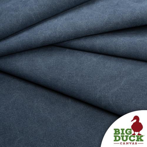 Stone Washed Canvas Denim Blue Cotton Discount Fabric Rolls