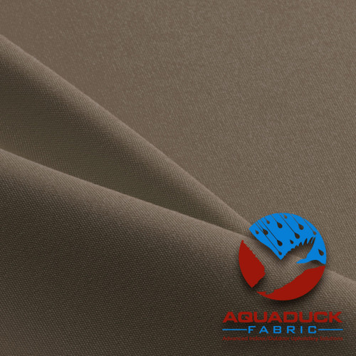 Aquaduck Outdoor Furniture Fabric Taupe Solution Dyed Acrylic