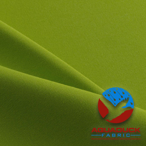 Wholesale Outdoor Furniture Fabric AquaDuck Solution Dyed Acrylic Lime Green
