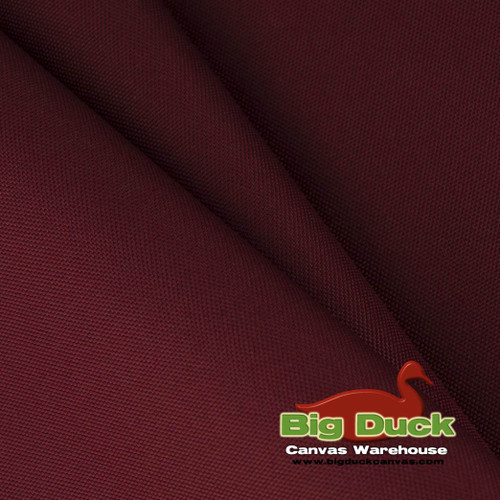1000 Denier (1000D) Coated Polyester Canvas/Fabric Wholesale Roll - Burgundy