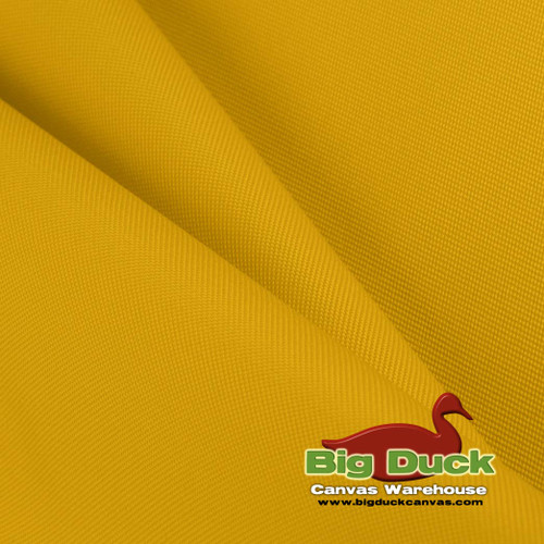 1000 Denier (1000D) Coated Polyester Canvas/Fabric Wholesale Roll - Yellow