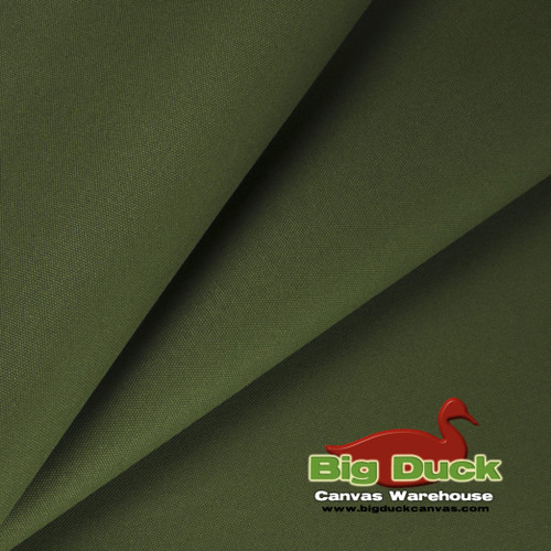 "#10/60"" Cotton Canvas Duck - Olive"
