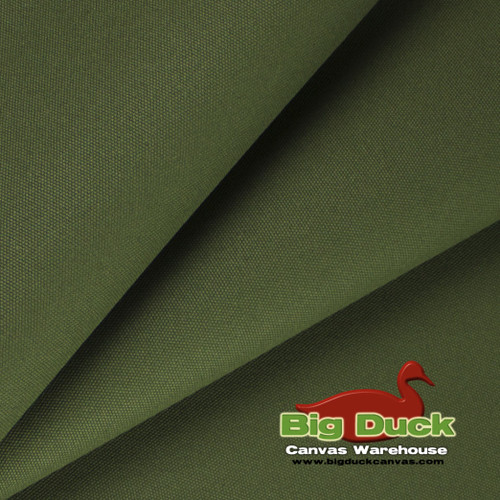 "#8/60"" Cotton Canvas Duck - Olive"